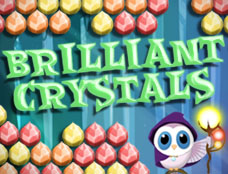Brilliant crystals game