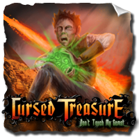 Cursed Treasure - Don't Touch My Gemstones Game
