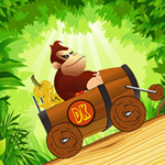 Donkey Kong 3 flash game (Jungle Ride)