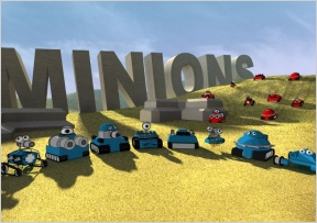 Minions Flash Game Online