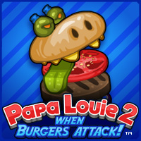 Papa Louie 2 – When Burgers Attack