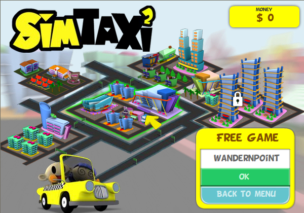 play free online games sim taxi