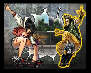 Skateboard City 2 Online Game