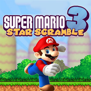 Super Mario Bros Star Scramble 3