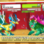 Battle with your dragons