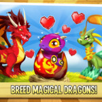 Breed magical dragons