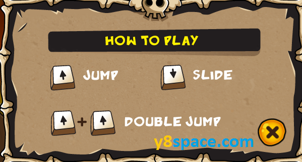 Jogging in Hell game game instructions